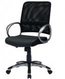 中背职员网椅(黑色)