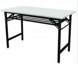 LJ-W1400折叠桌灰白色MFC面