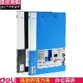得力deli 5302商务文件夹A4 双夹双强力资料夹整理夹 办公用品